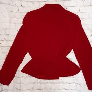 Tahari Jackets & Coats - Red blazer